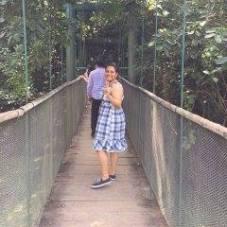 Puente colgante del Yumka - Foto de Mariana de la Cruz