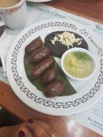 butifarra de Jalpa de Méndez (municipio de Tabasco y comida típica de ahí) - Foto de Mariana de la Cruz