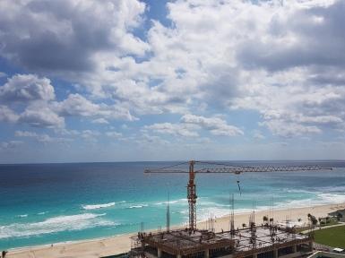 Del otro lado de la vista del Seadust Cancún